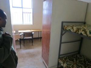 New dorms (4 students per room)