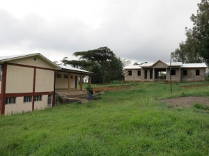 New(er) Classroom and unfinished admin building (need about $80k)